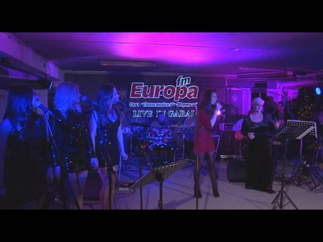 Monica Anghel & Bianca Nita - White Christmas (LIVE in Garajul Europa FM)