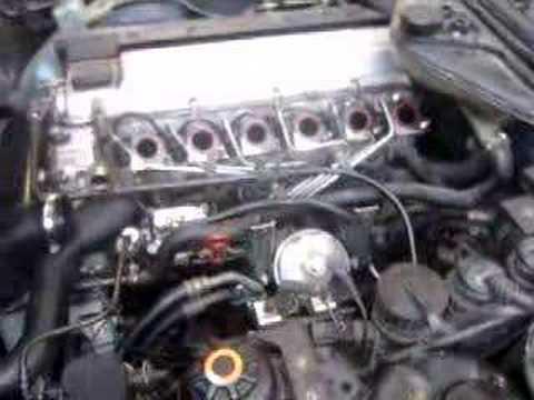 Motor M51, perteneciente a un BMW 525 TDS,E34. Arrancado sin colector de
