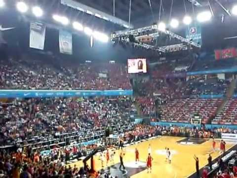 Euroleague Final Four 2012 CSKA Olympiacos - last minute last second shot