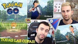 PVP VS DRACO EN TODAS LAS COPAS DE LA LIGA SUPER! ¿CASTFORM ESTA OP? [Pokémon GO-davidpetit]