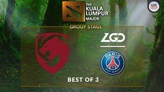 [DOTA 2] Tigers VS Fnatic (BO3) - The Kuala Lumpur Major Groupstage Day 2