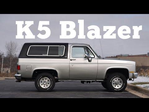1990 Chevrolet K5 Blazer: Regular Car Reviews