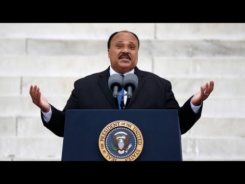 Martin Luther King III in Father's Place - 50th Anniversary of March on Washington