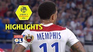 Olympique Lyonnais - OGC Nice ( 3-2 ) - Highlights - (OL - OGCN) / 2017-18