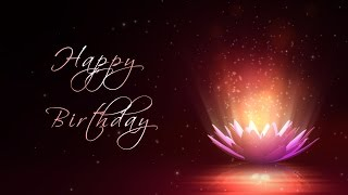 download lagu Happy Birthday - Motion Graphics Background - Lotus Flower gratis