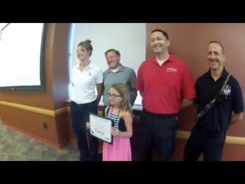 9-year-old hero calls 911, saves grandfather