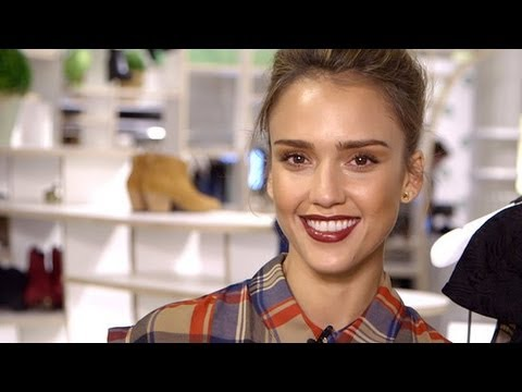 Want to Dress Like Jessica Alba? She Tells ALL!  | Fashion Week Spring 2014