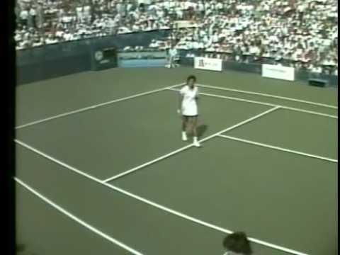 サバティーニ vs グラフ 全米オープン 1988 (3)