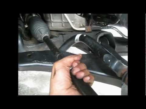 Inner and Outer Tie Rod ends remove/replace nissan murano 2004