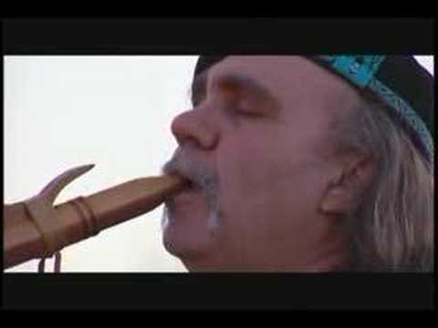 Eagles Cry - Native American Flute - John DeBoer Video