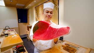 Sushi Omakase in Bangkok - TUNA BELLY Japanese Food at Umi Gaysorn in Thailand!