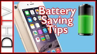 How To Save iPhone 6s & 6s plus Battery - Battery Saving Tips iOS 9