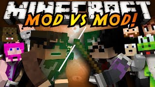 Minecraft Mod VS Mod : STAR WARS VS HARRY POTTER!