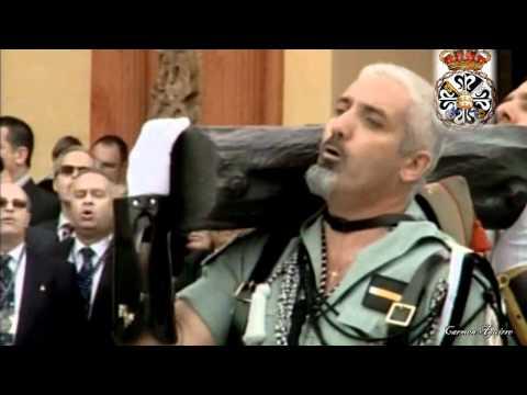 La Legión con el Cristo de la Buena Muerte: Málaga 2011