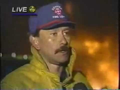 Denver Firefighters battle Stapleton Tank Farm Fire..wmv
