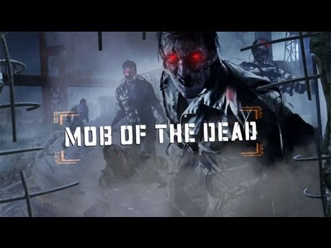Black Ops 2 Zombies Mob Of The Dead Refueling The Plane & Upgrading Tommy Gun & Trophy Part10 KG