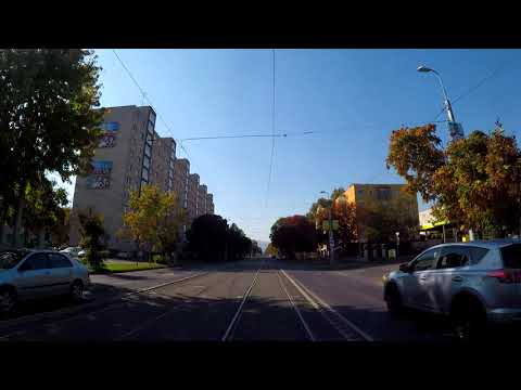 Cab View - Miskolc tram line 2