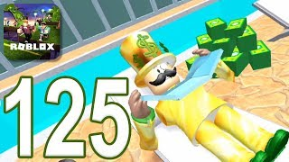ROBLOX - Gameplay Walkthrough Part 125 - Rob The Mansion Obby (iOS, Android)