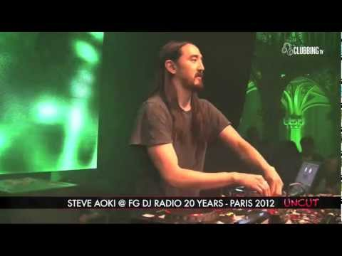 Grand Palais Paris with Steve Aoki 2012 on Clubbing TV - UNCUT
