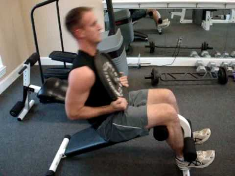 Weighted Incline Sit Up Youtube