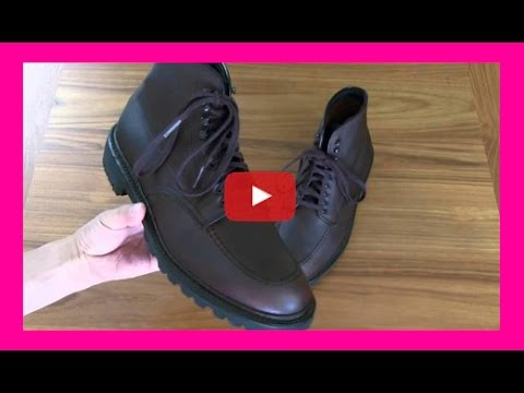 Alden 404 Kudu Indy Boots & Lexol Neatsfoot Treatment