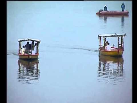 "PM Modi at the launch of environment friendly ""E Boats"" at Assi Ghat, Varanasi"