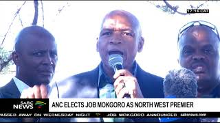 North West: ANC elects Job Mokgoro as new premier