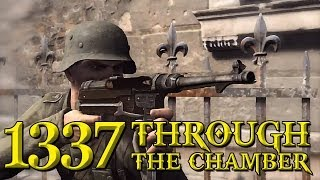 Sniper Elite v2 | Insane Shots_ Through The Bullet Chamber and Scope | Hard Difficulty