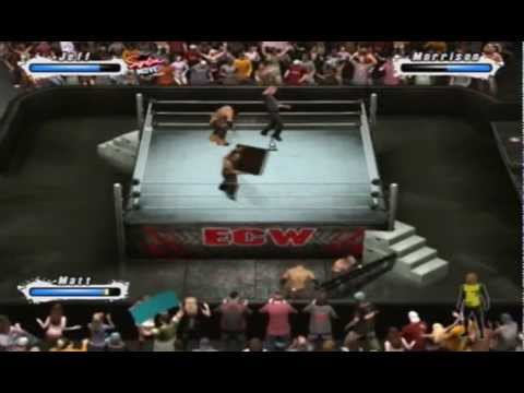 Hardy Boys vs Miz and Morrison svr 2009 with commentary