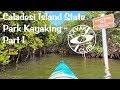 Florida Kayaking Caladesi Island from Dunedin Causeway