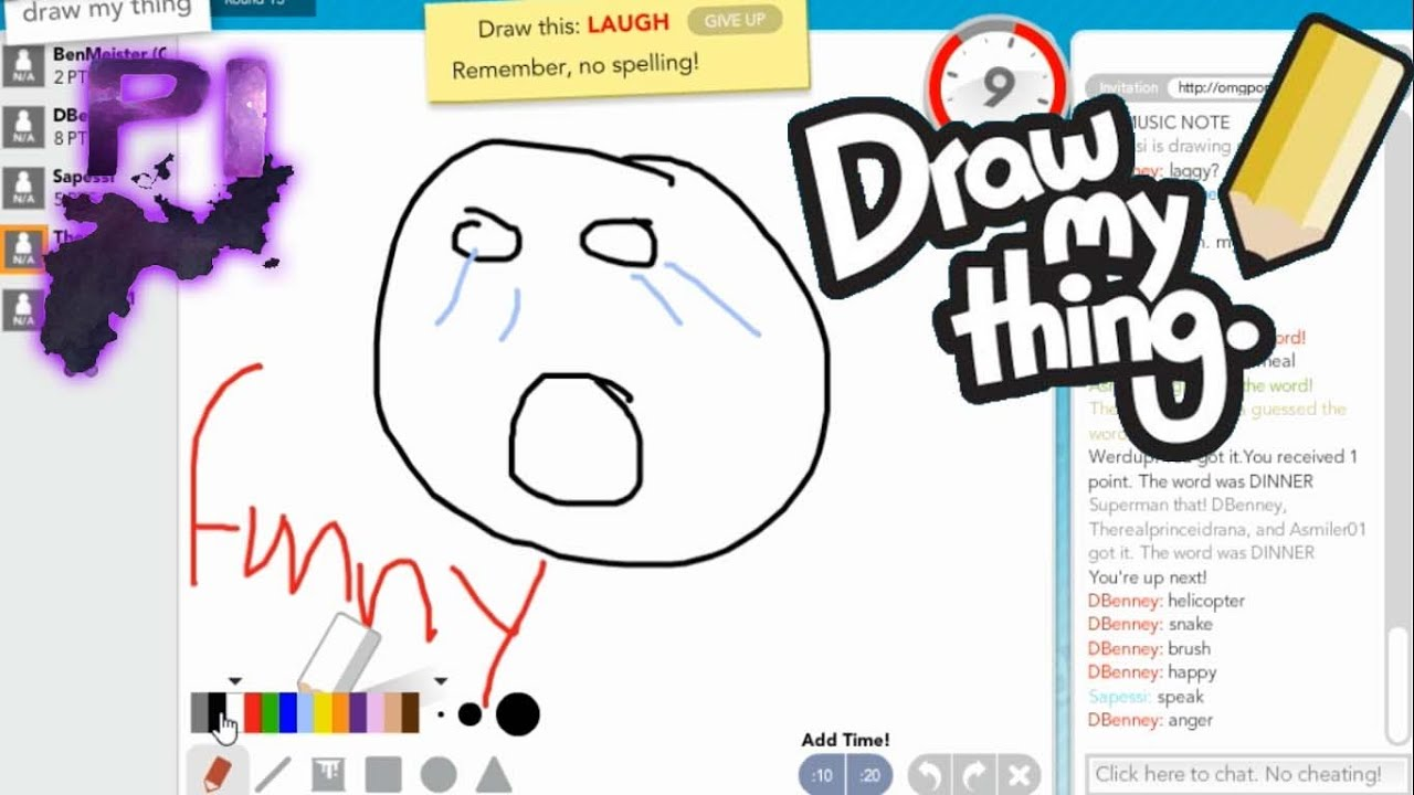 Amazing Draw my Thing Drawings Two Retards Drawing Some