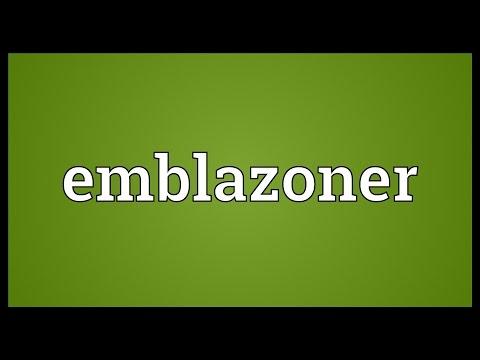 Header of emblazoner