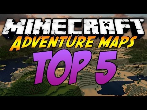 Top 5 Minecraft Adventure Maps - [2014] [1.7.5]