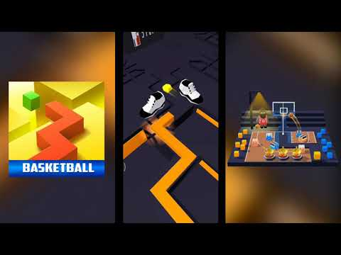 Dancing Line - The Basketball (bloopers) [Official Level]