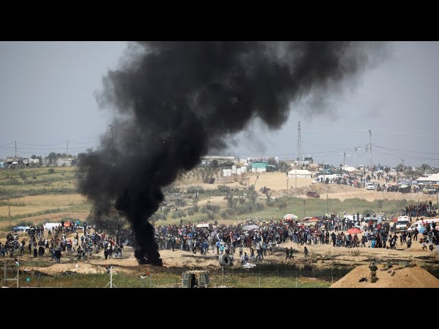 Over 1,000 Palestinians injured in deadly Gaza border protests