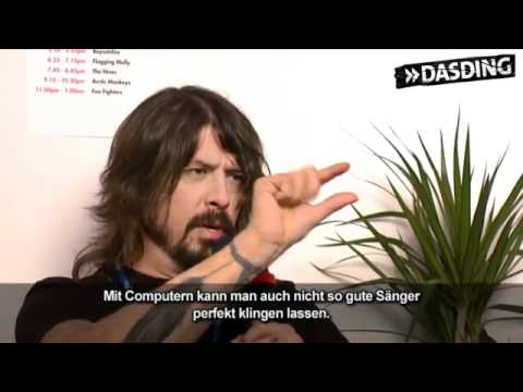 Foo Fighters about Coldplay