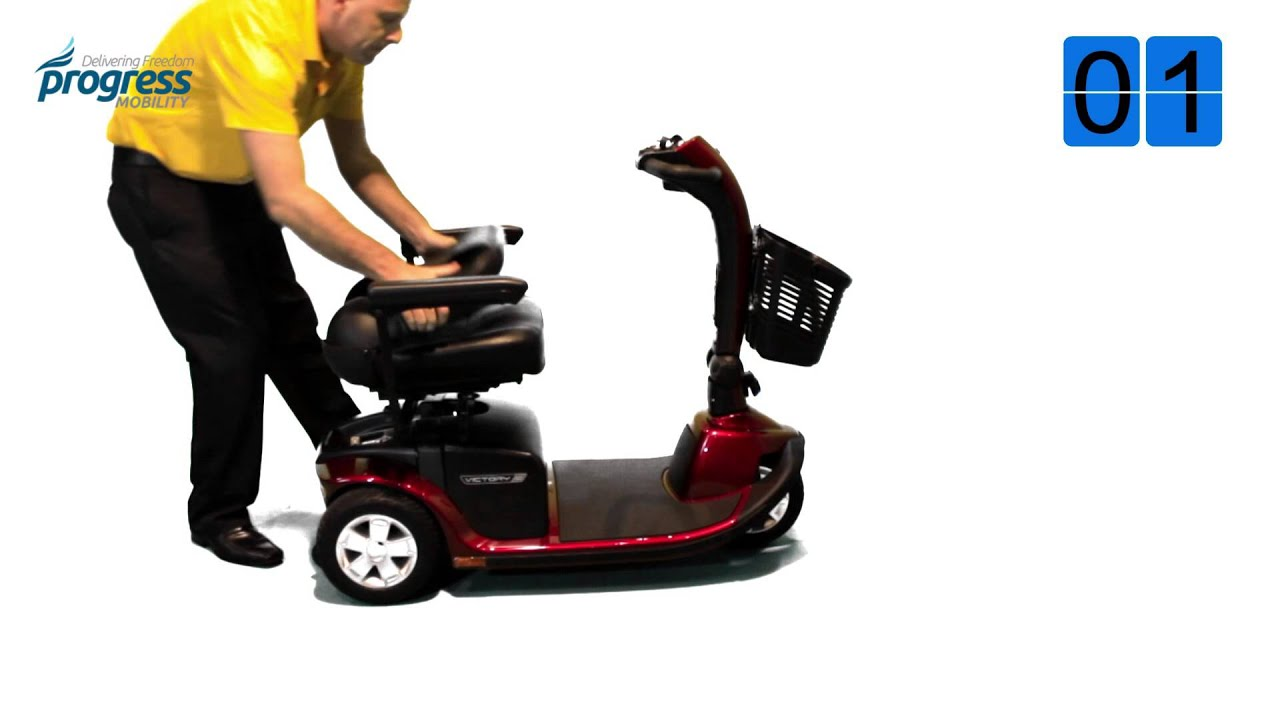 Pride Mobility Scooter >> Pride Victory 10 Review Pride Victory 10 Mobility Scooter 3 Wheel USA - YouTube