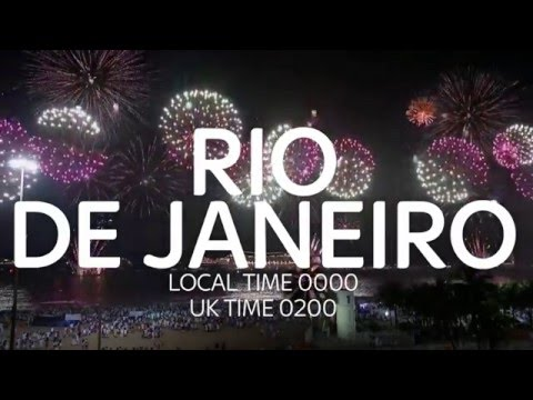 New Year's Fireworks Around The World In Sixty Seconds