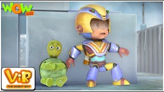 Vir The Robot Boy | Hindi Cartoon For Kids | The Turtle Alien| Animated Series| Wow Kidz