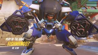 Dva Quad Ult POTG | Overwatch Highlights