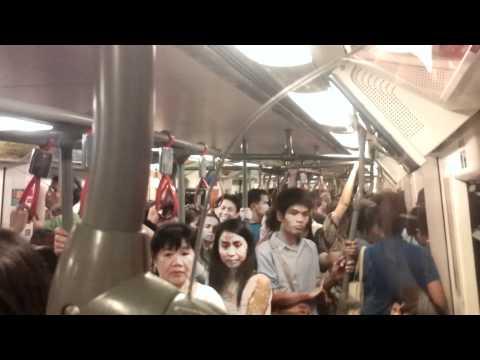 Ratchathewi Station to Siam Station – Bangkok BTS – Sky Train