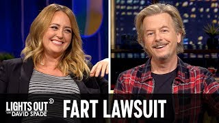 Antonio Brown's Legally Dicey Farts - Lights Out with David Spade