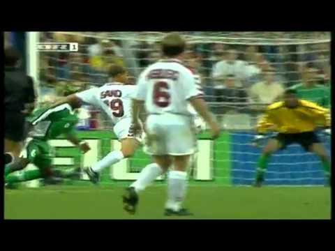 Michael Laudrup assist vs Nigeria