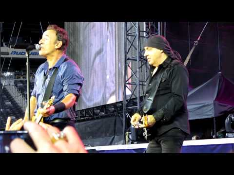 Bruce Springsteen and The E Street Band perform,