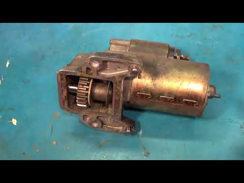 Starter motor replacement (2001-2008 Ford Escape)