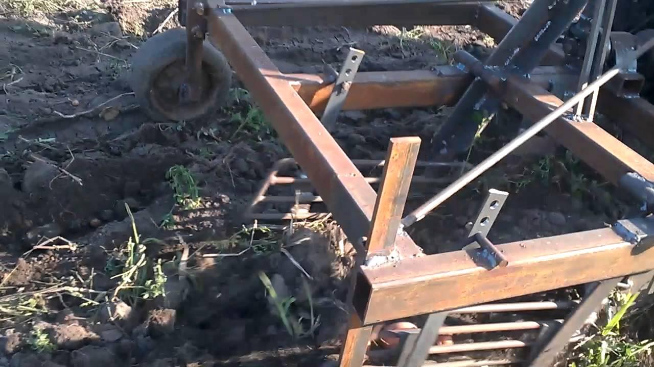 Картофелекопалка на трактор своими руками 8