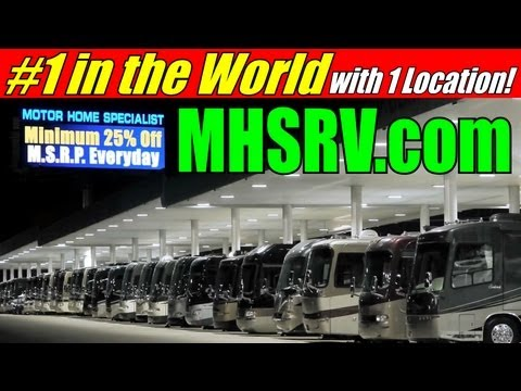 Motor Home Specialist: #1 Volume Selling Dealer in the World with 1 Location!