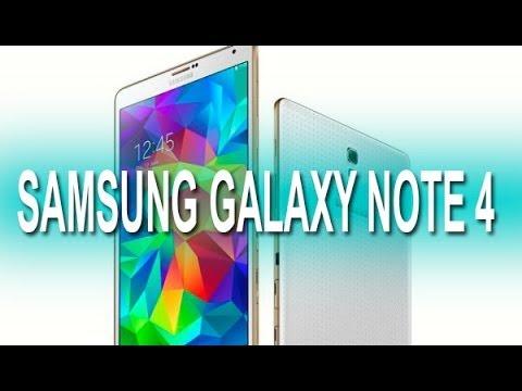 Samsung note 4 características