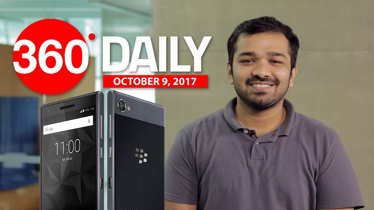 BlackBerry Motion and Asus ZenFone 4 Selfie Lite Launched, and More (Oct 9, 2017)