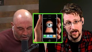 Edward Snowden On How Your Smartphone Spies on You - Joe Rogan Podcast
